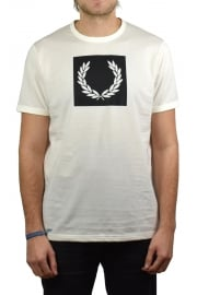 Printed Laurel Wreath T-Shirt (Light Ecru)