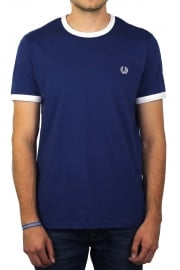Ringer Short-Sleeved T-Shirt (Pacific)