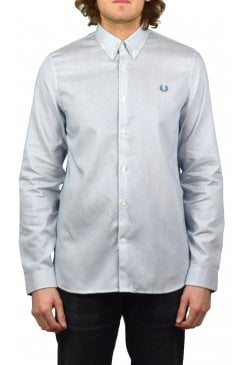 Stripe Long-Sleeved Shirt (Washed Dusk)