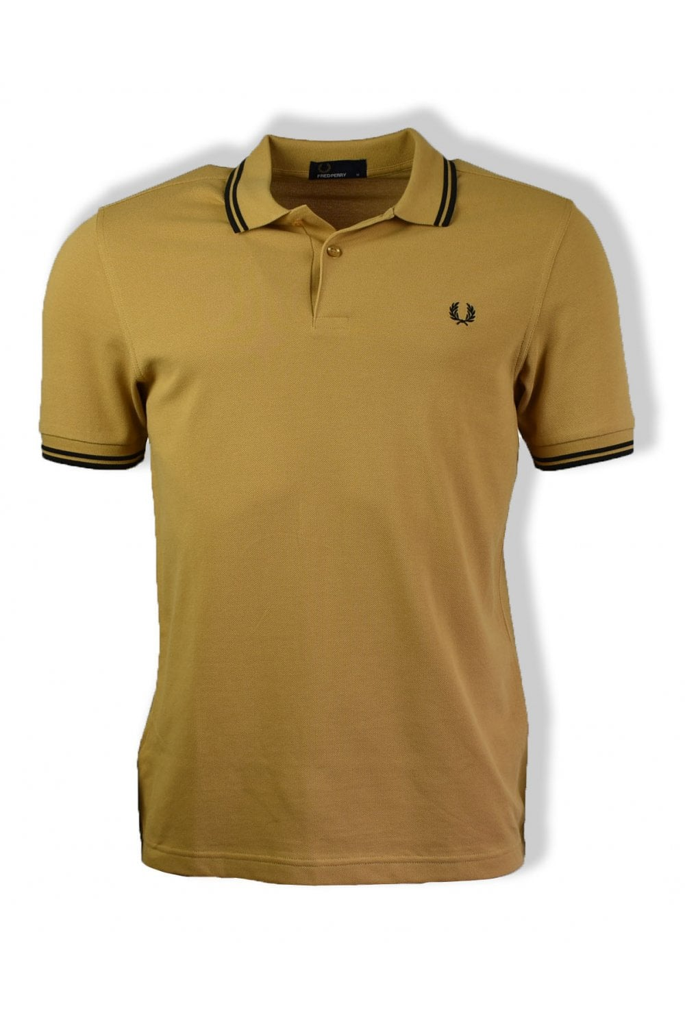 0700ce72 Fred Perry Twin Tipped Polo Shirt (1964 Gold) | ThirtySix