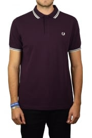 Twin Tipped Polo Shirt (Bramble)