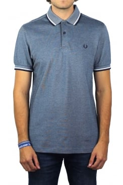 Twin Tipped Polo Shirt (Carbon Blue)