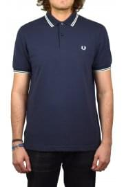 Twin Tipped Polo Shirt (Dark Airforce)