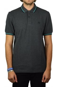 Twin Tipped Polo Shirt (Graphite Marl)