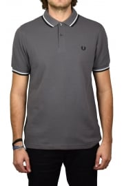 Twin Tipped Polo Shirt (Iced Slate)