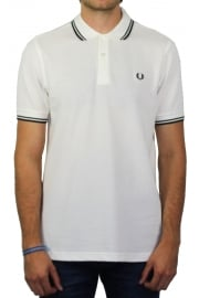 Twin Tipped Polo Shirt (Snow White)