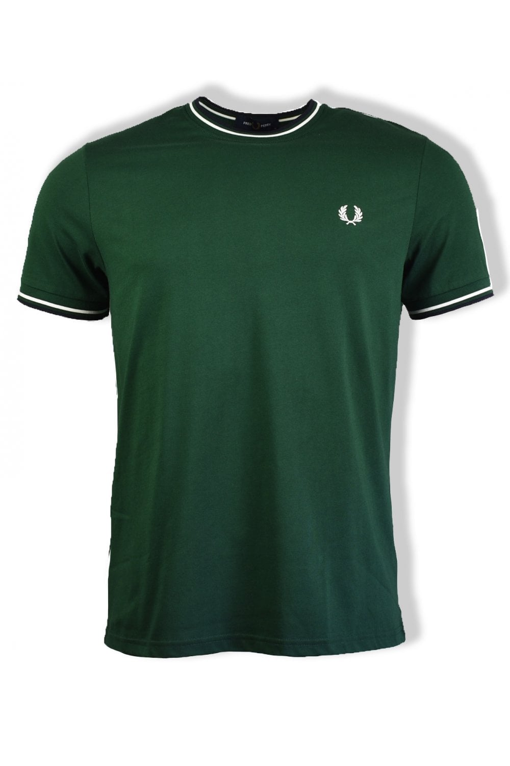 Fred Perry Twin Tipped T-Shirt Ivy