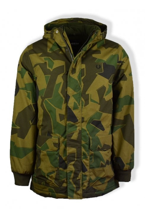 Fred Perry x Arktis Stockport Jacket (Woodland Camo)