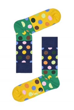 Big Dot Block Socks