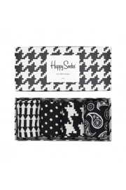 Black & Whites Gift Box (4 Pack of Socks)
