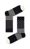 Happy Socks Black & Whites Gift Box (4 Pack of Socks)