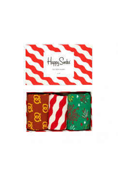Christmas Gift Box Set (3 Pairs)