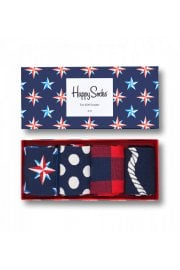 Nautical Gift Box (4 Pack of Socks)