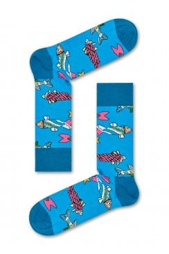 x The Beatles Socks (Fish and Whales)