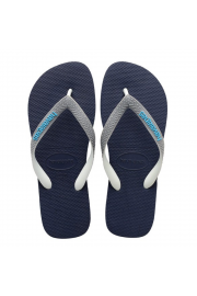 Top Mix Flip Flops (Navy Blue/Steel Grey)