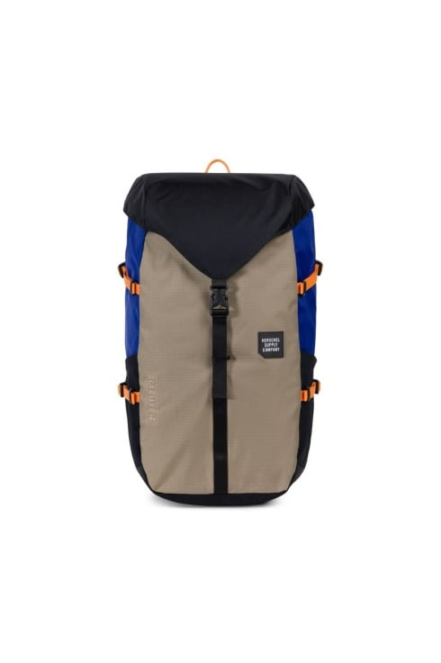 Herschel Supply Co Barlow Large Backpack (Black/Brindle/Surf the Web)