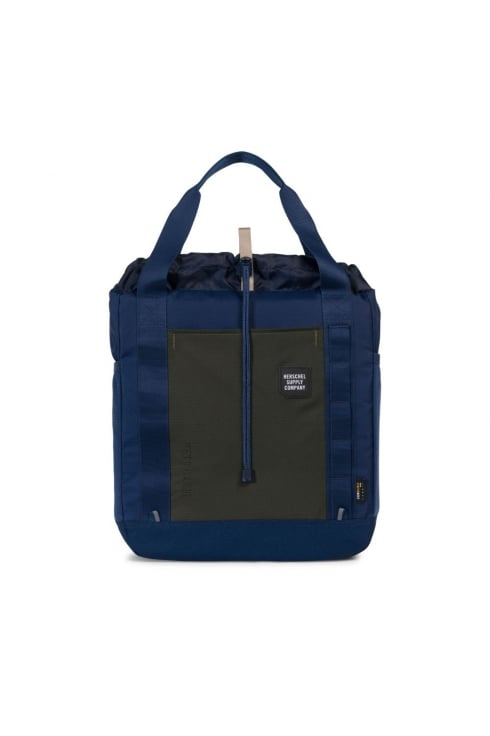 Herschel Supply Co Barnes Tote Bag (Peacoat/Forest Night)