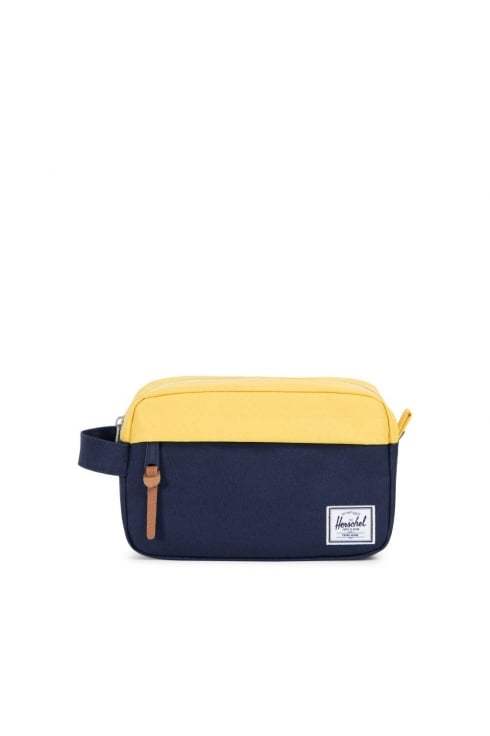 Herschel Supply Co Chapter Carry-On Washbag (Peacoat/Cyber Yellow)