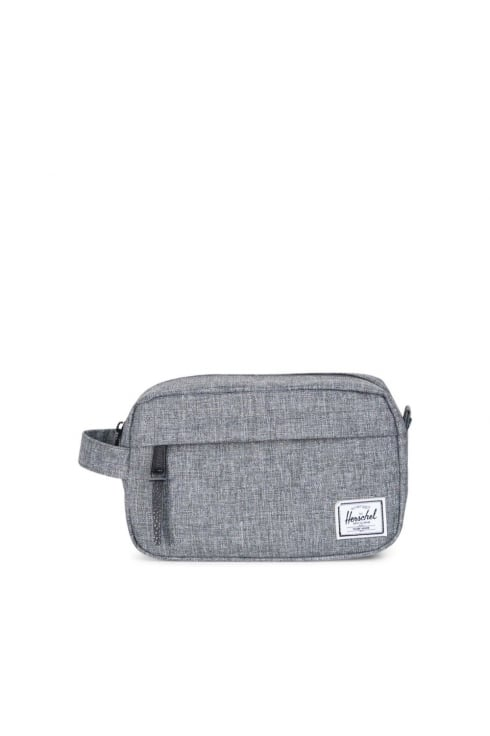Herschel Supply Co Chapter Carry-On Washbag (Raven Crosshatch)