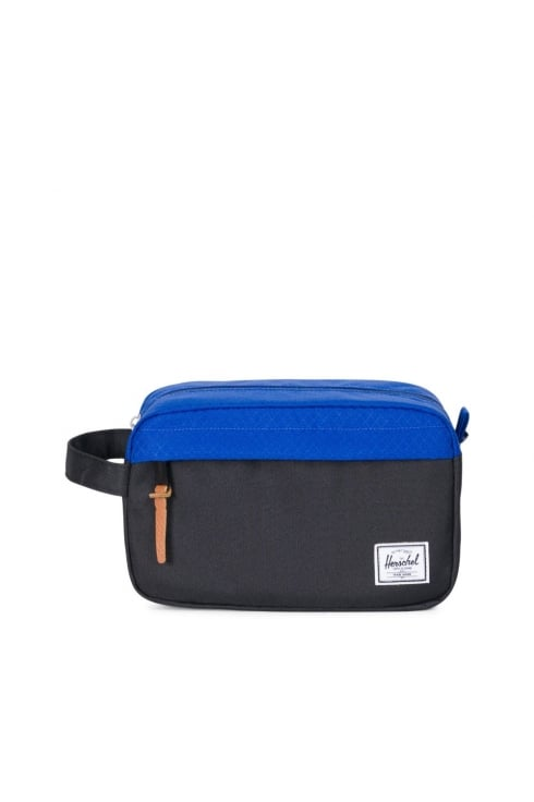 Herschel Supply Co Chapter Washbag (Black/Surf the Web)