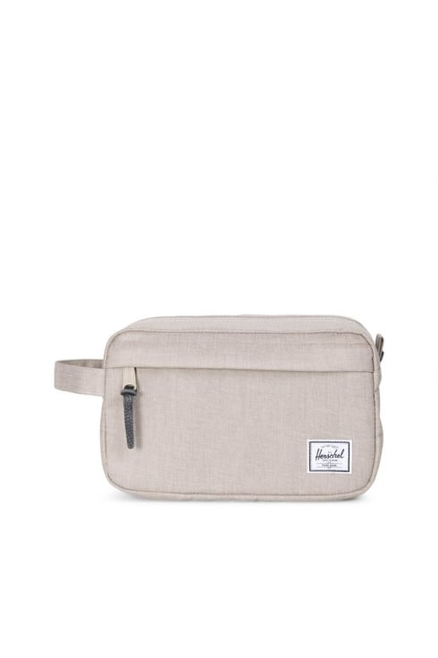 Herschel Supply Co Chapter Washbag (Light Khaki Crosshatch)