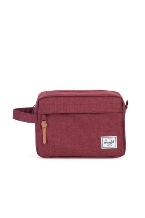 Herschel Supply Co Chapter Washbag (Winetasting Crosshatch)