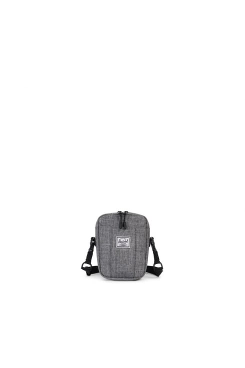 Herschel Supply Co Cruz Crossbody Bag (Raven Crosshatch)