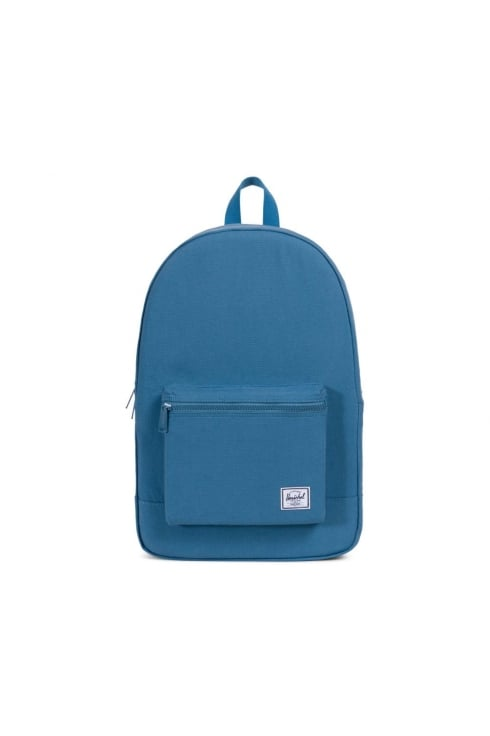 Herschel Supply Co Daypack Cotton Casuals Packable Backpack (Aegean Blue)