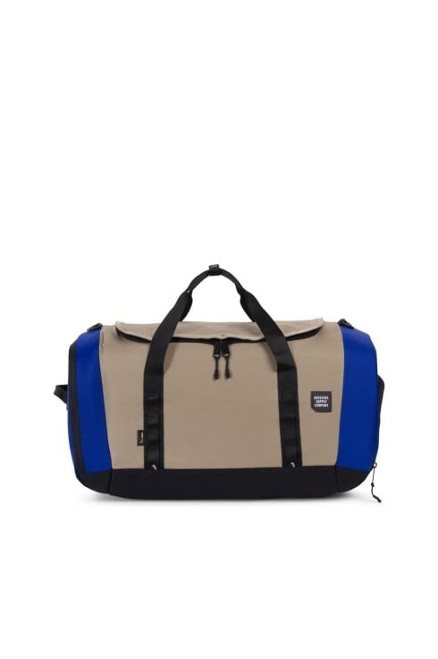 Herschel Supply Co Gorge Large Duffle Bag (Black/Brindle/Surf the Web)