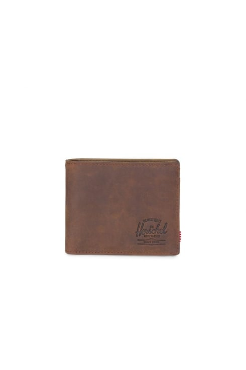 Herschel Supply Co Hank Coin Leather RFID Wallet (Nubuck Leather)