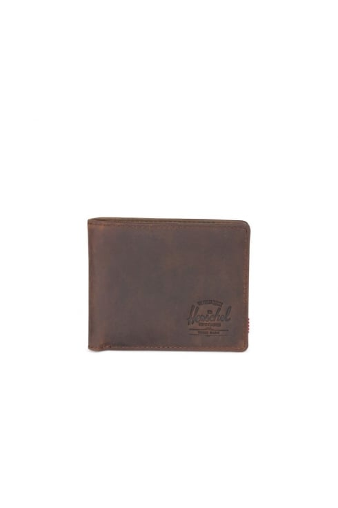 Herschel Supply Co Hank Leather RFID Wallet (Nubuck Leather)