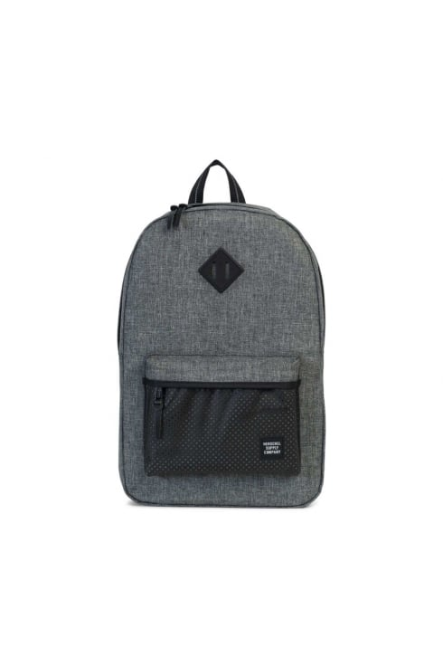 Herschel Supply Co Heritage 'Aspect' Backpack (Raven Crosshatch/Black Rubber)