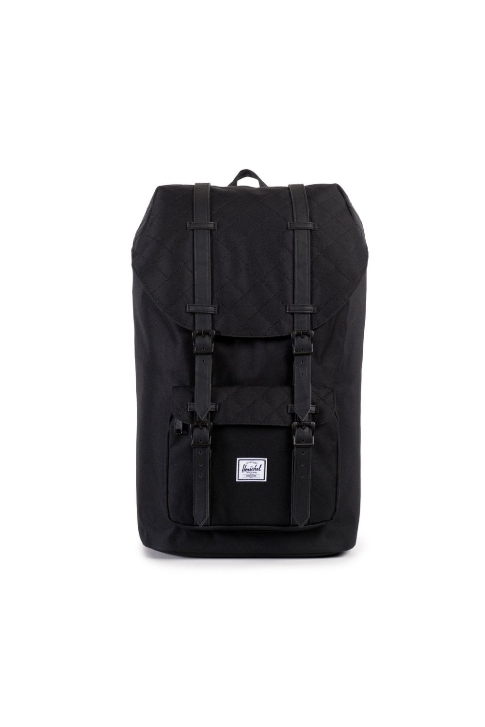 f885a5e1a23 Herschel Supply Co Little America Backpack (Black Quilted)