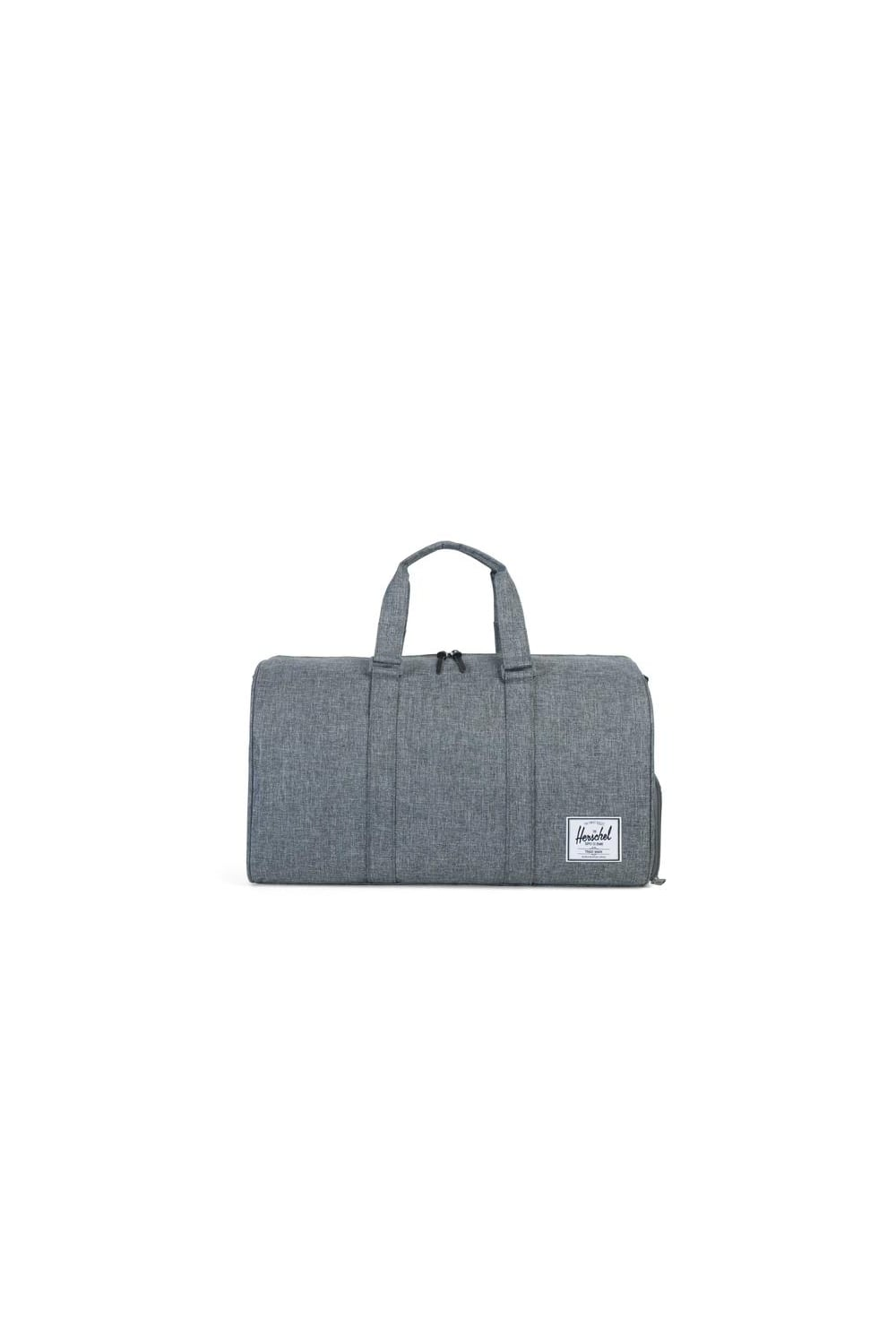 Herschel Supply Co Novel Duffle Bag (Raven Crosshatch)  3397f49ba2ecd
