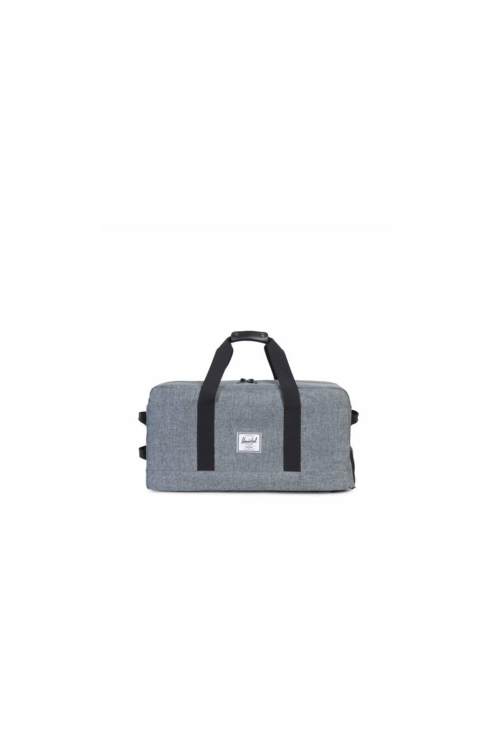 142a547f56ff Herschel Supply Co Outfitter Luggage Duffle Bag (Raven Crosshatch ...