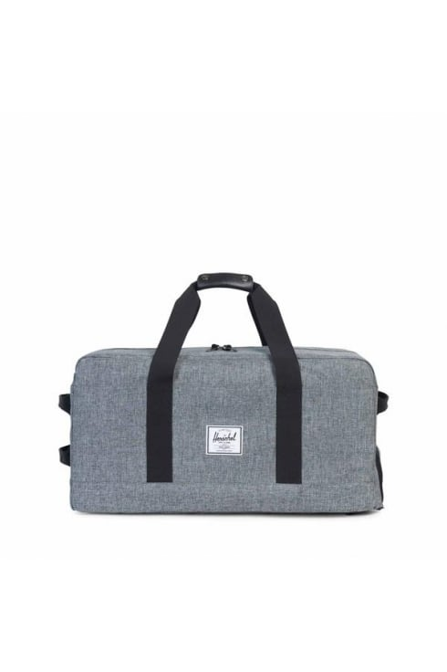 Herschel Supply Co Outfitter Luggage Duffle Bag (Raven Crosshatch)