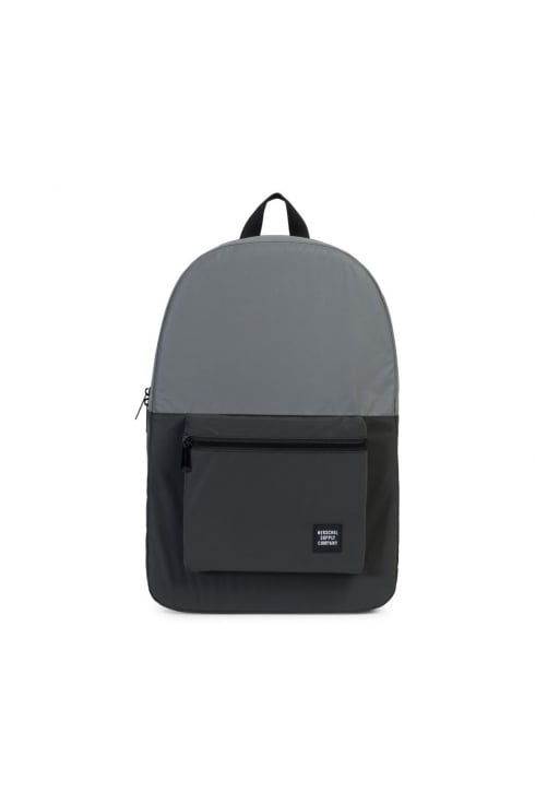 Herschel Supply Co Packable Daypack (Silver Reflective/Black Reflective)