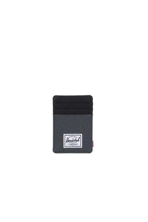 Herschel Supply Co Raven Card Holder (Dark Shadow/Black)