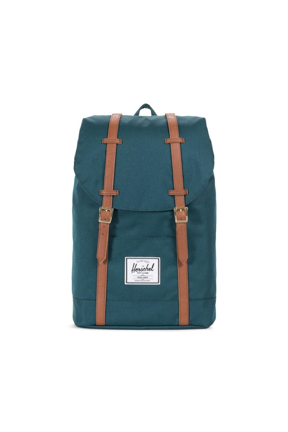 Herschel Supply Co. Retreat Backpack (Deep Teal Tan)   ThirtySix b80f3d652f