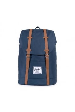 Retreat Backpack (Navy/Tan)