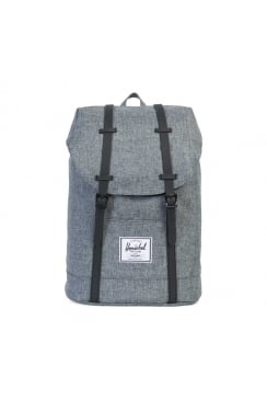 Retreat Backpack (Raven Crosshatch/Black Rubber)