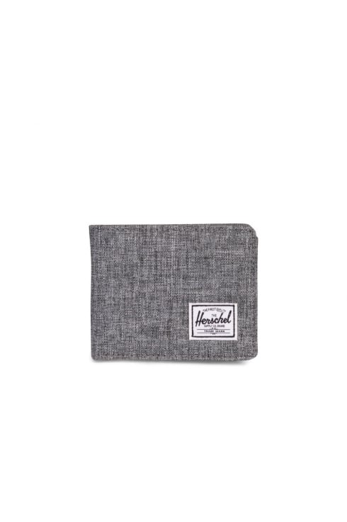 Herschel Supply Co Roy Coin RFID Wallet (Raven Crosshatch)