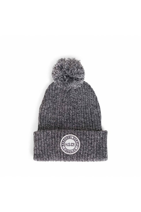 Herschel Supply Co Sepp Beanie (Heathered Black)