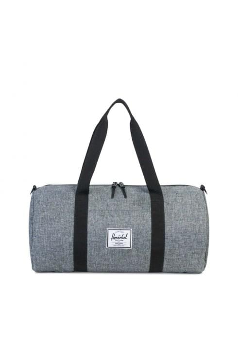 Herschel Supply Co Sutton Mid-Volume Duffle Bag (Raven Crosshatch/Black)