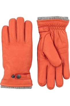 Utsjö Elk Leather Gloves (Brick Red)