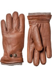 Utsjö Elk Leather Gloves (Chestnut)