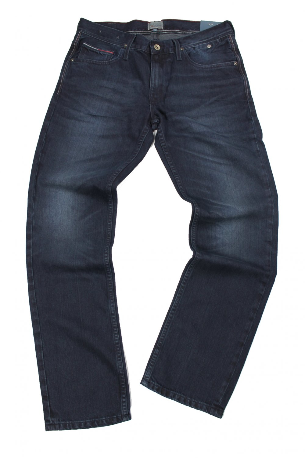 3ce898acac42e4 Tommy Jeans Ryan Straight Leg Jeans (Baker Blue Black) - Jeans from ...