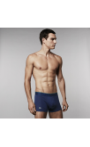 Lacoste 3-Pack Boxer Trunks (Dark Blue)
