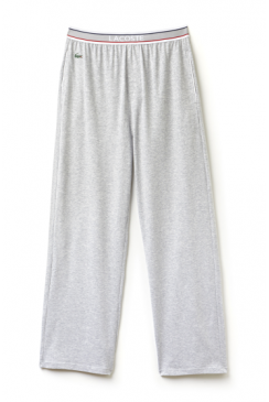 Colour Contrast Waistband Lounge Pants (Grey)