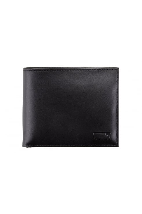 Levi's 2-in-1 Leather Wallet (Black)